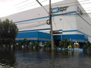 hard drive western digital floods